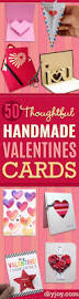 Homemade Valentine Gifts For Him by Best 25 Diy Valentines Cards Ideas Only On Pinterest Home Made