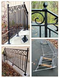 Handrail For Two Steps Wisconsin Iron Works Llc