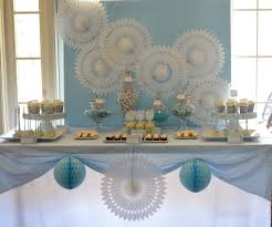 communion decoration baby blue and silver grey baptism party ideas images