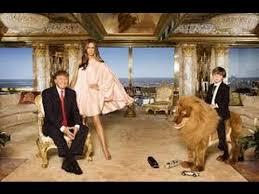 trumps gold house donald trump house 24 karat gold youtube