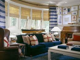 Nautical Interior Things We Love Nautical Decor Velvet Couch Living Rooms And