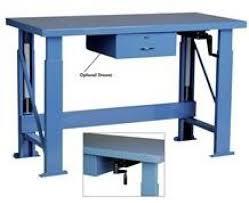 Industrial Work Table by Industrial Desks Metal Desks Warehouse Desks