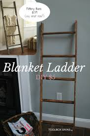 Diy Nursery Decor Diy Blanket Ladder For A Baby S Room Diy Blanket Ladder Diy