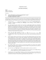 Sample Investor Letter Of Intent by Letter Of Intent To Lease Commercial Space Legal Forms And