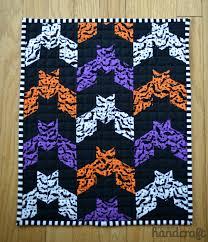 halloween series u2013 barn bat mini quilt u2013 modern handcraft