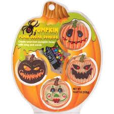 Halloween Pumpkin Sugar Cookies - create a treat pumpkin plain sugar cookie decorating kit 18 87 oz