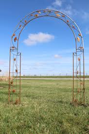 wrought iron bird arbor garden trellis