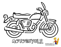 motorcycle coloring pages kids kids coloring