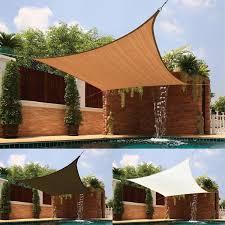 square lshade medium square sail extra heavy fabric sun shade free shipping