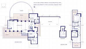 falling water floor plan frankloyd wright house plans robie floor oak 708711 building