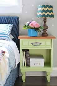 nightstands turquoise nightstand blue distressed nightstand