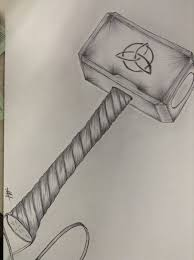 thor hammer drawing at getdrawings com free for personal use thor