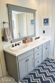 Painted Bathroom Cabinets Ideas Best 25 Painting Bathroom Cabinets Ideas On Pinterest Paint