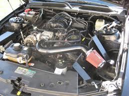 2008 Mustang Black Sr Performance Mustang Black Cold Air Intake 41096 05 09 V6