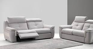 canapé électrique baguera canapé relaxation electrique ou fixe personnalisable sur