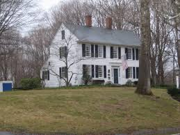 Clasic Colonial Homes Big Old White House With Blue Shutters U003c3 My Dream Home Me