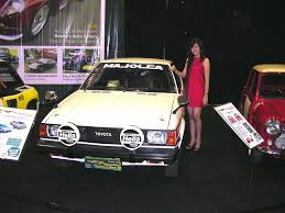 classic toyota corolla toyota corolla levin te71 with the beside a photo on