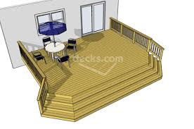 deck floor plan decks com free plans