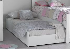 liv u0026 lou white compact single guest sleepover underbed