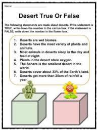 desert facts worksheets u0026 cold climate information for kids