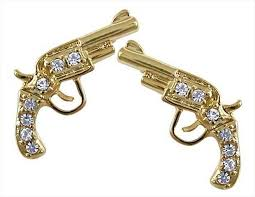 gun earrings 10 country glam gun earrings real country