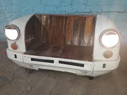 indian ambassador car industrial sofa shakunt vintage furniture