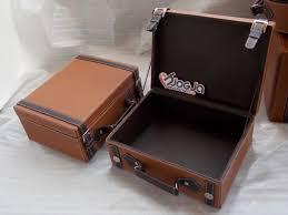 Jual Keranjang Parcel Pontianak vintage leather imitation box jogja handycraft suplier