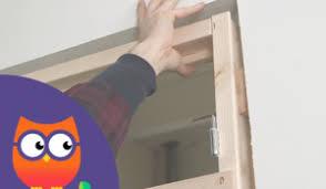 comment poser une porte de chambre comment poser une porte interieure notice de pose d un bloc theuma