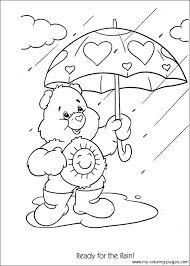 28 care bear coloring images care bears