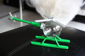 how to make a helicopter ornament 6 steps