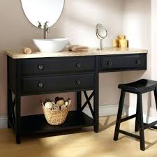vanities single sink vanity with makeup counter dual vanity with