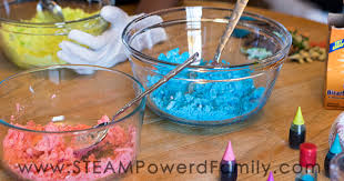 simple fun chemistry hatch baking soda dinosaur eggs