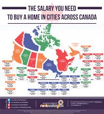 Map Of Canada Cities And Provinces by Canada U0027s Most Expensive And Cheapest Places To Buy A Home In 1