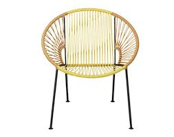 Cb2 Patio Furniture by 10 Easy Pieces Hoop Chairs For Patio And Poolside Gardenista