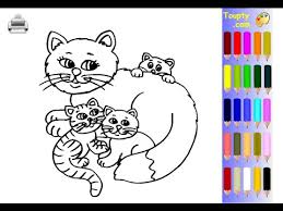 kittens coloring pages kids kittens coloring pages