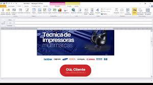 Famosos Como configurar email marketing no Outlook - iWeb design gráfico  &XO25