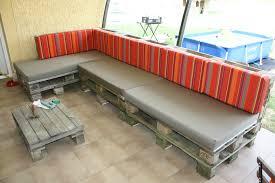 meuble fait en palette canape en palette pour salon fabriquer un salon de jardin en