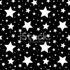 imagenes blancas en fondo negro patrón sin costuras con estrellas blancas sobre fondo ilustración