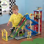 Build Wooden Toy Garage by