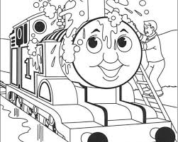 Free Thomas The Train Coloring Pages To Print Coloring Pages Ideas Rail Color Page