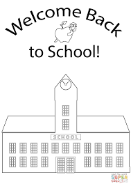 welcome back to coloring page free printable coloring pages