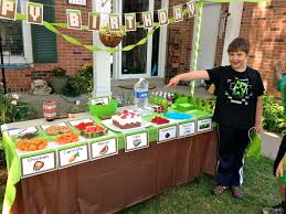 an epic minecraft birthday party with games and printables play