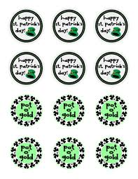 easy diy st patrick u0027s day classroom treats and free printable