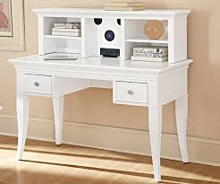 White Desk With Hutch And Drawers Furniture Stylish White Desk Designs Custom Decor Awesome