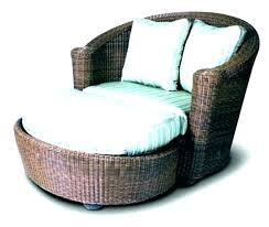 patio furniture with ottomans wicker chair and ottoman ottoman wicker furniture ottoman