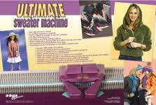 sweater machine bond america sweater machine