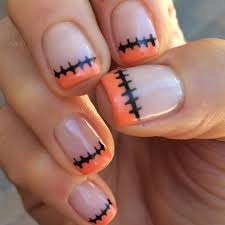 easy diy halloween nails popsugar beauty australia
