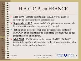 normes haccp cuisine collective méthode h a c c p norme r a b c ppt télécharger
