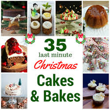 35 last minute christmas cakes and bakes babycentre blog