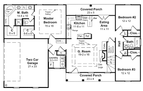 1800 Square Feet 1 Story 1800 Square Foot Ranch House Plans With Nice Home Zone